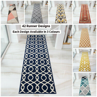 Extra Long Narrow Hallway Hall Runners Runner Dark Carpet Mats Rugs Cheap £19.95 • 19.95£