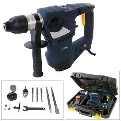 View Details Gmc 1800w Electric Sds+ Rotary Hammer Drill With Case Sds Plus Gsds1800 • 85.95£