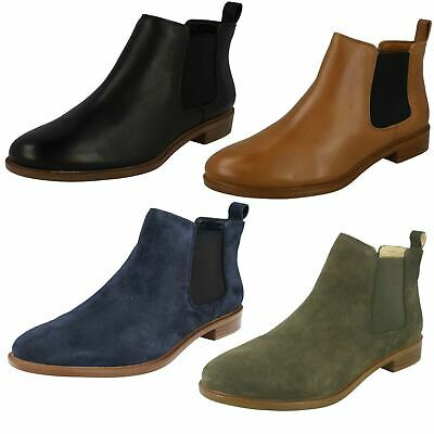 £74.99 • Buy Ladies Clarks Chelsea Boots *Taylor Shine*