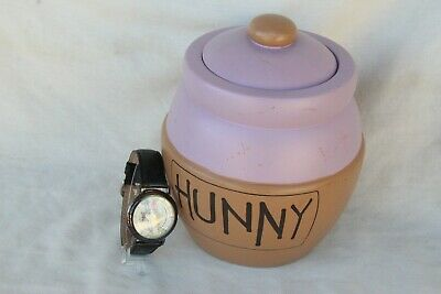 $100 • Buy Fossil Disney Watch Collector Club Series 6 Hunny Pot Purple, Day For Eeyore