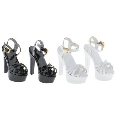 $23.92 • Buy 2 Pairs 1:6 High Heel Sandals For Enterbay  Female Figures Dress-Up