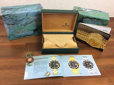 $ CDN664.80 • Buy Rolex Submariner 16613 Watch Box Set 1999 + Link + Booklets + Tag + FREE POST