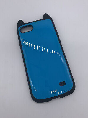 £2.95 • Buy Mimi Cute Cat Ears Case For IPhone 7 8 Hybrid Hard Cover Black + Blue 4.7 New