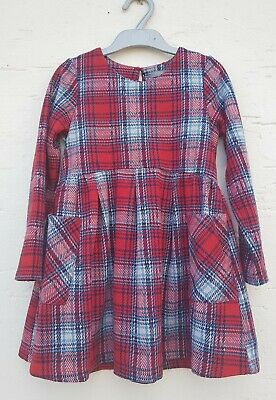Girls Checked Dress Age 5-6 From NEXT • 4.50£