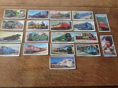 Collectors Cards Kellogg Story Of The Locomotive Series 1 (incomplete Set) • 0.01£