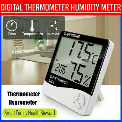 Digital Thermometer Hygrometer / Humidity Temperature Monitor Meter ( 2 In 1 ) • 4.73£