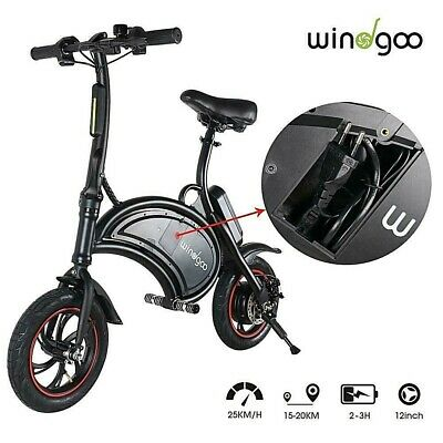 View Details Windgoo Electric Bike B3 Folding Urban City Commuter • 349.99£