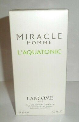 Lancome Miracle Homme L'Aquatonic 125  Ml New, Never Open • 69.99£