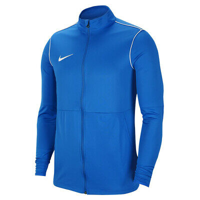 Nike Dry Park 20 Knit Mens Blue Warm Up Top Training Sports Track Jacket • 22.99£