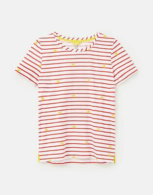 Joules Womens 213013 Classic Crew With Chain Stitch Detail - Sunnystrp • 7.95£