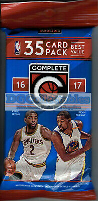 AU24.95 • Buy 2016-17 Panini Complete Basketball Sealed 35-card Fat Pack Unsearched Nba New!!!