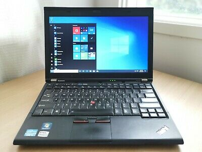 AU169 • Buy Lenovo ThinkPad X220i 12.5  Laptop/Notebook I3-2310M @2.3GHz 4G 320GB HDD Win10P