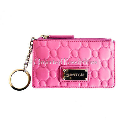 AU64.90 • Buy New OROTON Roche Zip Coin Purse Wallet Classic Pink With Tags