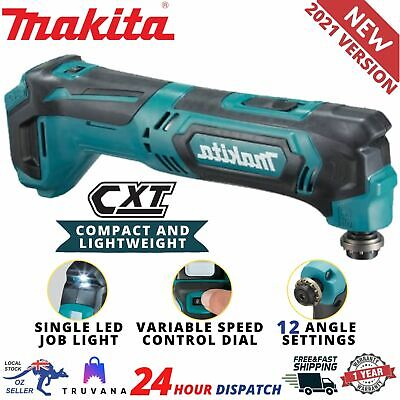 AU145.90 • Buy Makita TM30DZ 12V Max CXT Compact Cordless Multi Tool Variable Speed - Skin Only