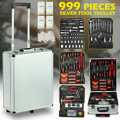 AU131.90 • Buy 899 PCS Complete Tool Set Mechanics Portable Kit Trolley Case DIY Set Hand Tools