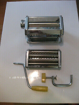 $35.99 • Buy  MARCATO ATLAS Model 150 Pasta Machine Made In Italy With Manual In 4 Languages