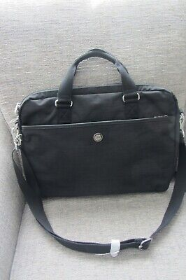 KiIPLING KAITLYN  TRUE DAZZ BLACK LAPTOP BAG ~ FREE P&P • 54.99£