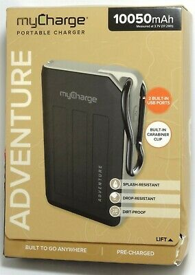 MyCharge - Adventure 10,050 MAh Portable Charger For Phone/Tablet, AVC10G • 14.02£