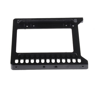 AU4.11 • Buy Adapter 2.5  To 3.5  Hard Drive Plastic Bracket Hdd Holder Mounting Ssd Black Yh