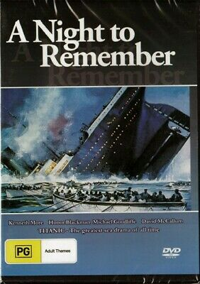 AU9.45 • Buy A Night To Remember - Titanic Classic - New & Sealed Dvd - Free Local Post