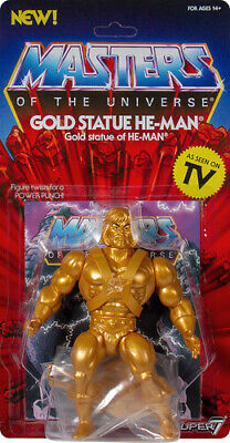 $29.99 • Buy Super7 Masters Of The Universe Vintage GOLD STATUE HE-MAN 5 1/2  Action Figure