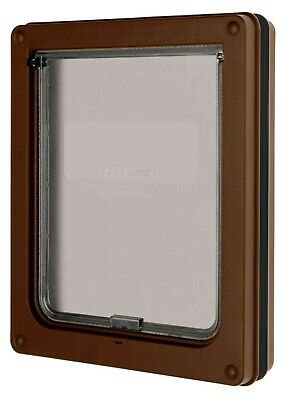£32.99 • Buy Dog Mate Lockable Dog Flap Medium - Brown Door, For Large Cats And Medium Dogs