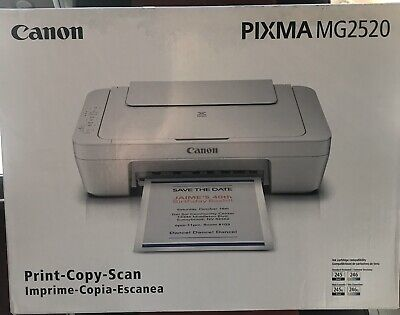 """View Details Canon PIXMA MG2520 All-In-One Inkjet Printer -- BRAND NEW -- """"NO INK"""" • 45.99$"""