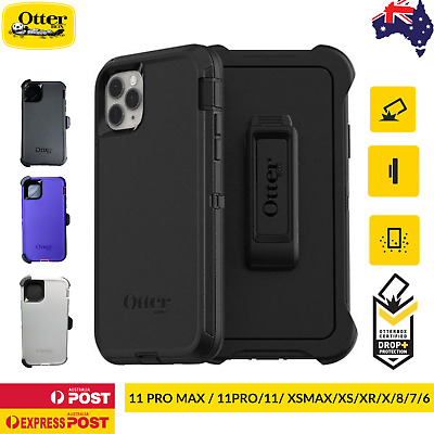 AU44.90 • Buy Otterbox Defender Case For IPhone 11 11Pro 11 Pro Max XS Max XR XS X 8 7 6 SE