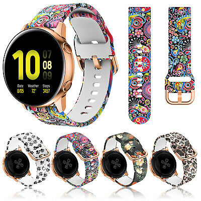 AU11.99 • Buy For Samsung Galaxy Watch 3 41mm/Active 2 40/44mm Silicone Sport Band Strap Loop