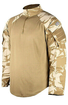 British  Army Desert Pattern Ubacs Combat Shirt • 14.99£