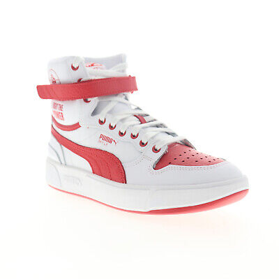 AU79.55 • Buy Puma Sky LX Public Enemy 37453801 Mens White Leather High Top Sneakers Shoes