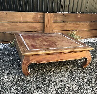 AU51 • Buy                                  Coffee Table Balinese Style. Solid & Heavy