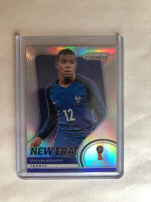$ CDN535.27 • Buy 2018 Kylian Mbappe Panini Prizm World Cup New Era Silver Holo #NE-9