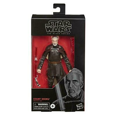 AU39.99 • Buy Star Wars The Black Series #107, 6  Count Dooku 6-Inch Action Figure, 2020