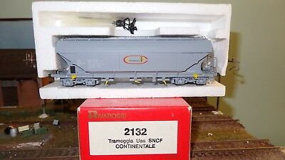 AU169.59 • Buy Rivarossi Italy 2132 Tow Truck Hopper SNCF Grey Continental