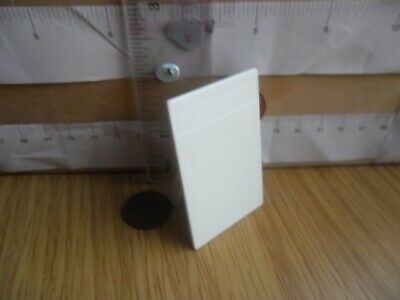 1022 Free Standing White Board For Sign Cafe / Stand - Playmobil New Spare Part • 2.60£