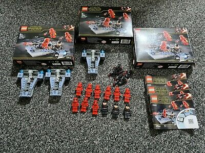AU31 • Buy 3x Lego Star Wars Sith Troopers Battle Pack (75266)