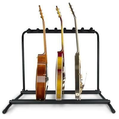 $ CDN73.99 • Buy Pyle PGST43 Multi Instrument 7pc Acoustic Electric Guitar Holder Rack Stand NEW