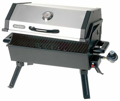 $ CDN100 • Buy Martin 14,000-BTU Portable Outdoor Tabletop BBQ Grill Stainless Steel Cover