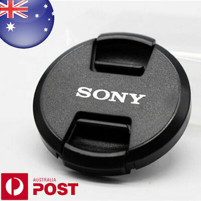 AU5.99 • Buy Sony Lens Cap - 55mm Camera Snap-on Len Cap Cover - Centre Pinch - Auspost Z352