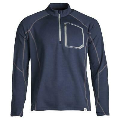 $ CDN247.58 • Buy Klim Teton Merino Wool 1/4 Zip Blue Motorcycle Base Layer - New! Free P&P!
