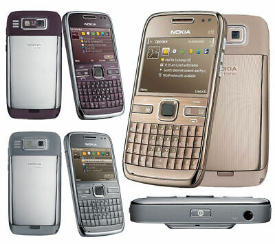 £30 • Buy NOKIA E72 QWERTY UNLOCKED 5MP WIFI 3G BLUETOOTH MOBILE Phone Or FULL SET