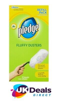 Pledge Fluffy Dusters Refills (5) • 7.95£