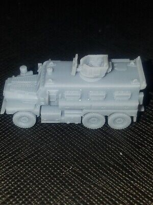 $6.50 • Buy N Scale  PnP Trains  3D Printed  MRAP Cougar 6x6 Military DODX   Unpainted