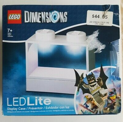 AU60 • Buy Lego Dimensions LED Light Display Case WHITE - Extremely Rare!