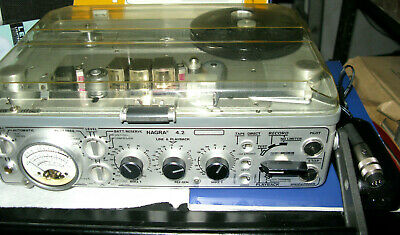 Nagra 4.2 In Near Prestine Excelent Clean Machine Professional Serviced Recently • 1,750£