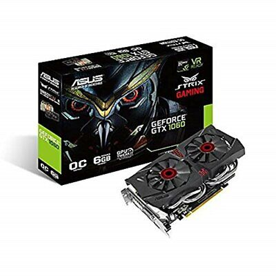 AU663.47 • Buy ASUS R.O.G. STRIX Series NVIDIA GeForce GTX1060 Equipped With Video Card Overclo