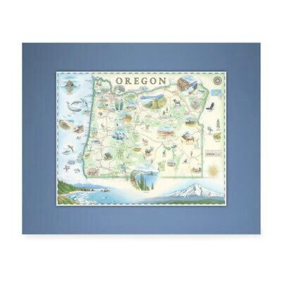 AU37.98 • Buy Xplorer Maps - Mini Map - Oregon - NEW