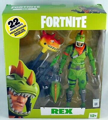"$ CDN38.95 • Buy Fortnite Epic Games REX 7"" Action Figure 22 Moving Parts McFarlane Toys NIB"