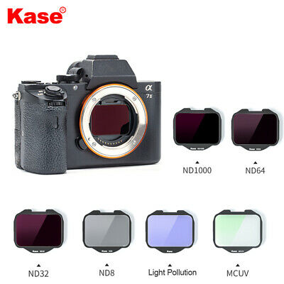 $ CDN266.73 • Buy Kase Built-in MCUV/ND1000/ND64/Night Filter For Sony A7R4/A7III/A7R/A7/A9 Camera